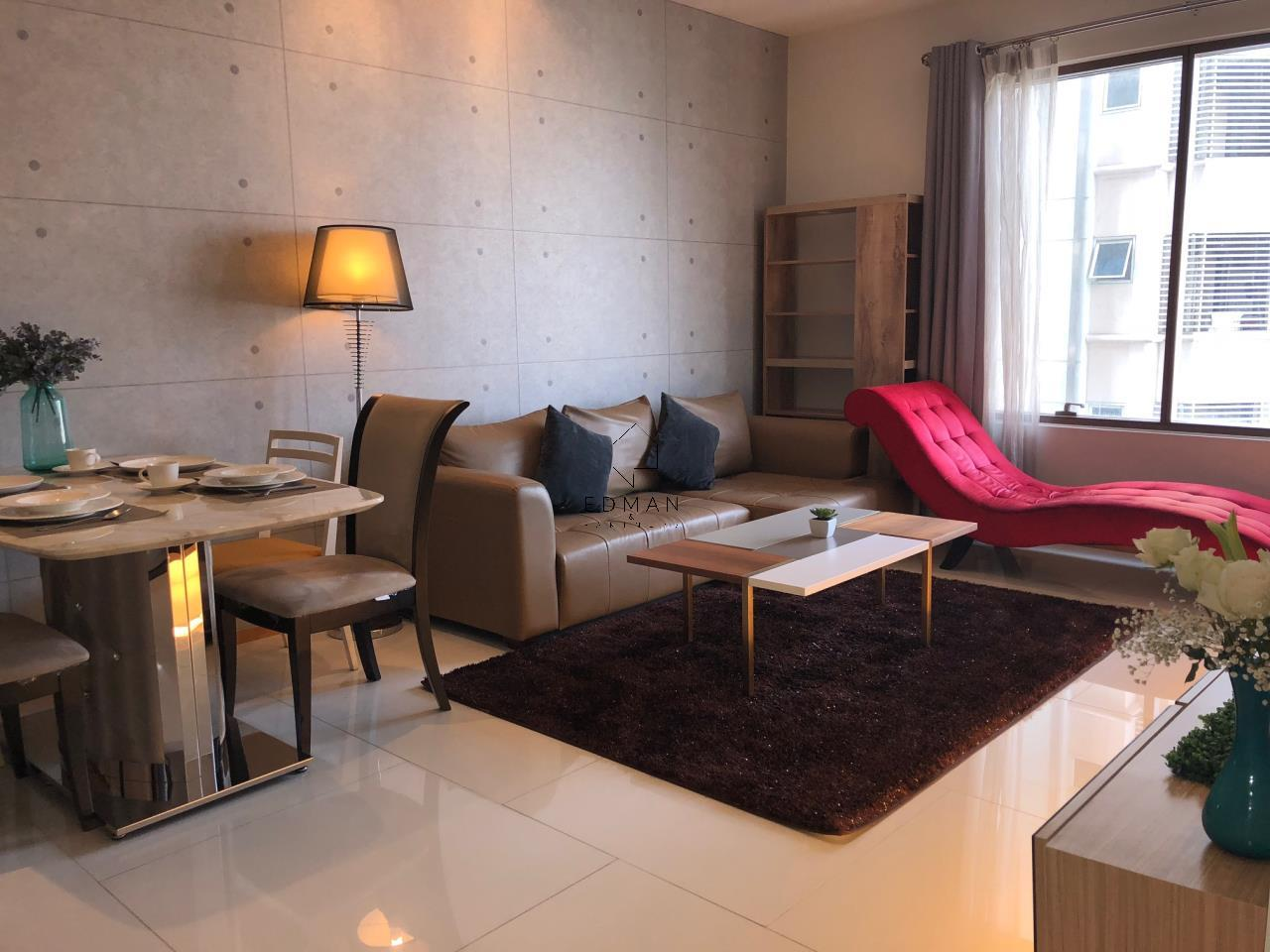 Edman and Partners Co.,Ltd Agency's For Sale or Rent The Emporio Sukhumvit 24, 1 Bed 17