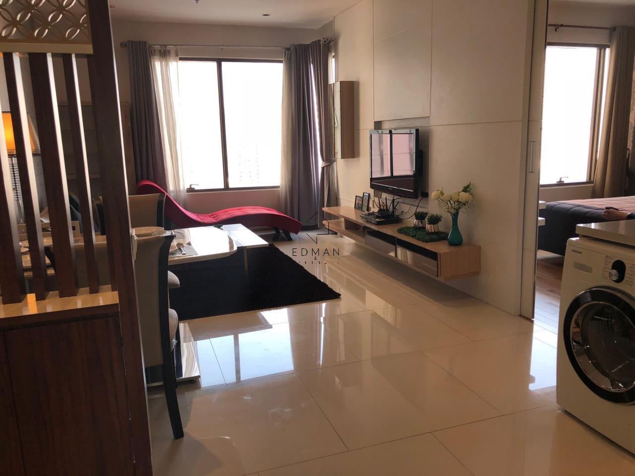 Edman and Partners Co.,Ltd Agency's For Sale or Rent The Emporio Sukhumvit 24, 1 Bed 18