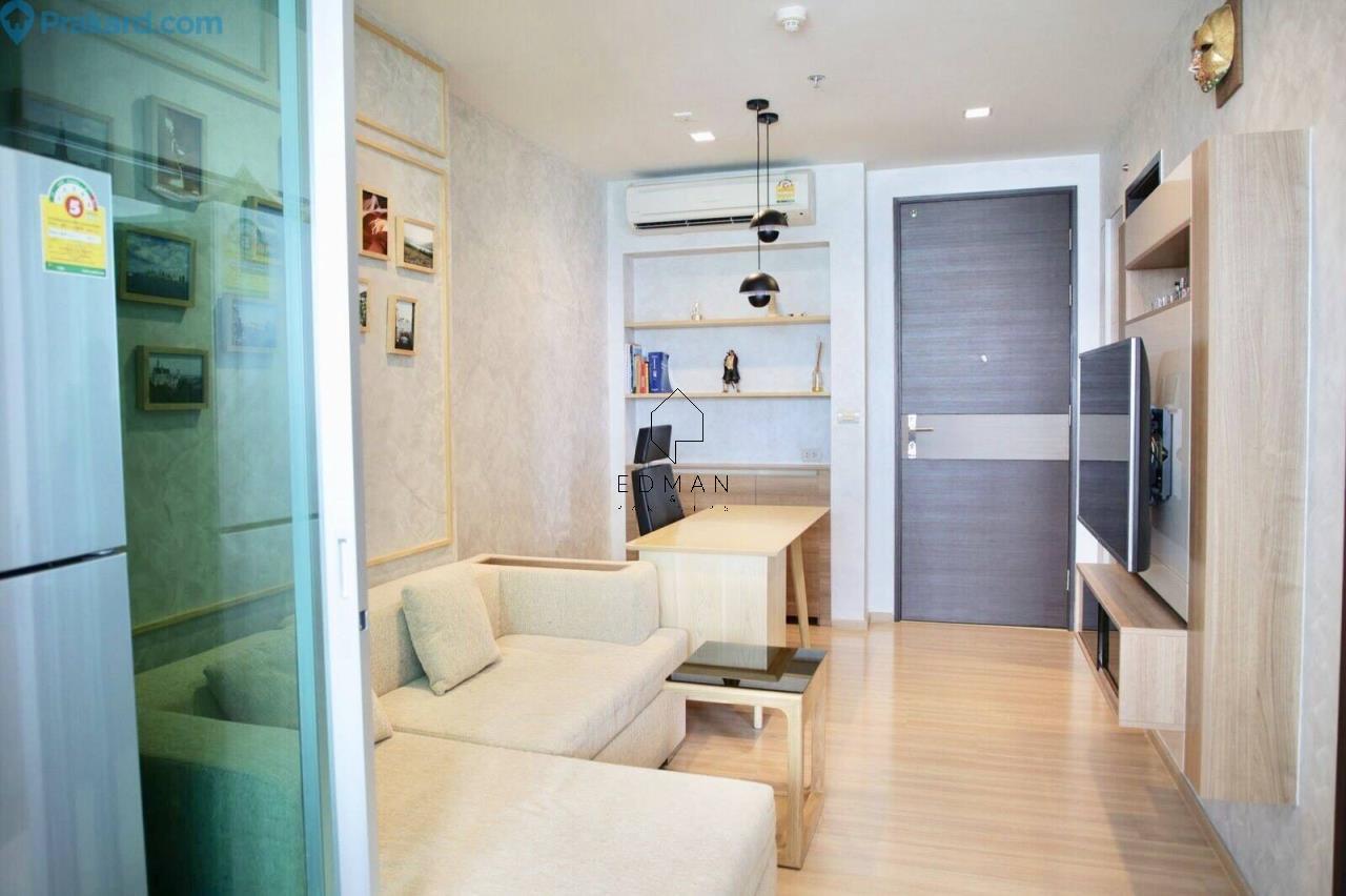 Edman & Partners Co.,Ltd. Agency's Rhythm sathorn 1bed for rent 1