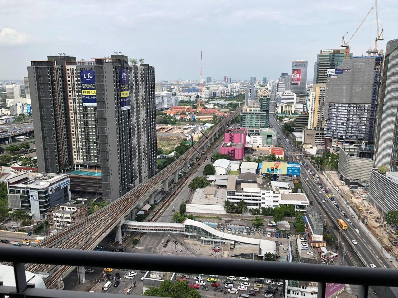 Edman and Partners Co.,Ltd Agency's The Address Asoke 1 bed for rent 9