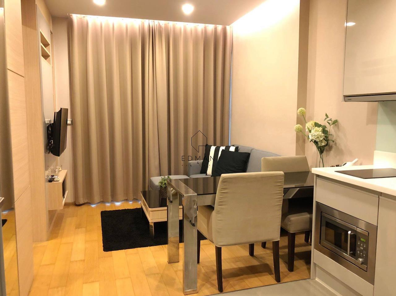 Edman and Partners Co.,Ltd Agency's The Address Asoke 1 bed for rent 3