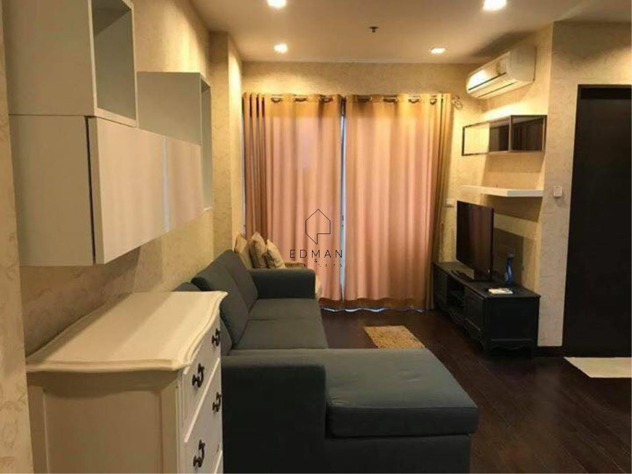Edman and Partners Co.,Ltd Agency's The Address Asoke 1 bed for rent 1