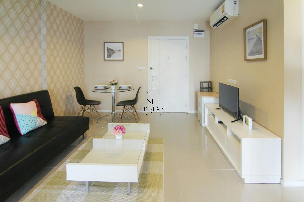 Edman & Partners Co.,Ltd. Agency's ASPIRE SUKHUMVIT 48 1bed for rent 1