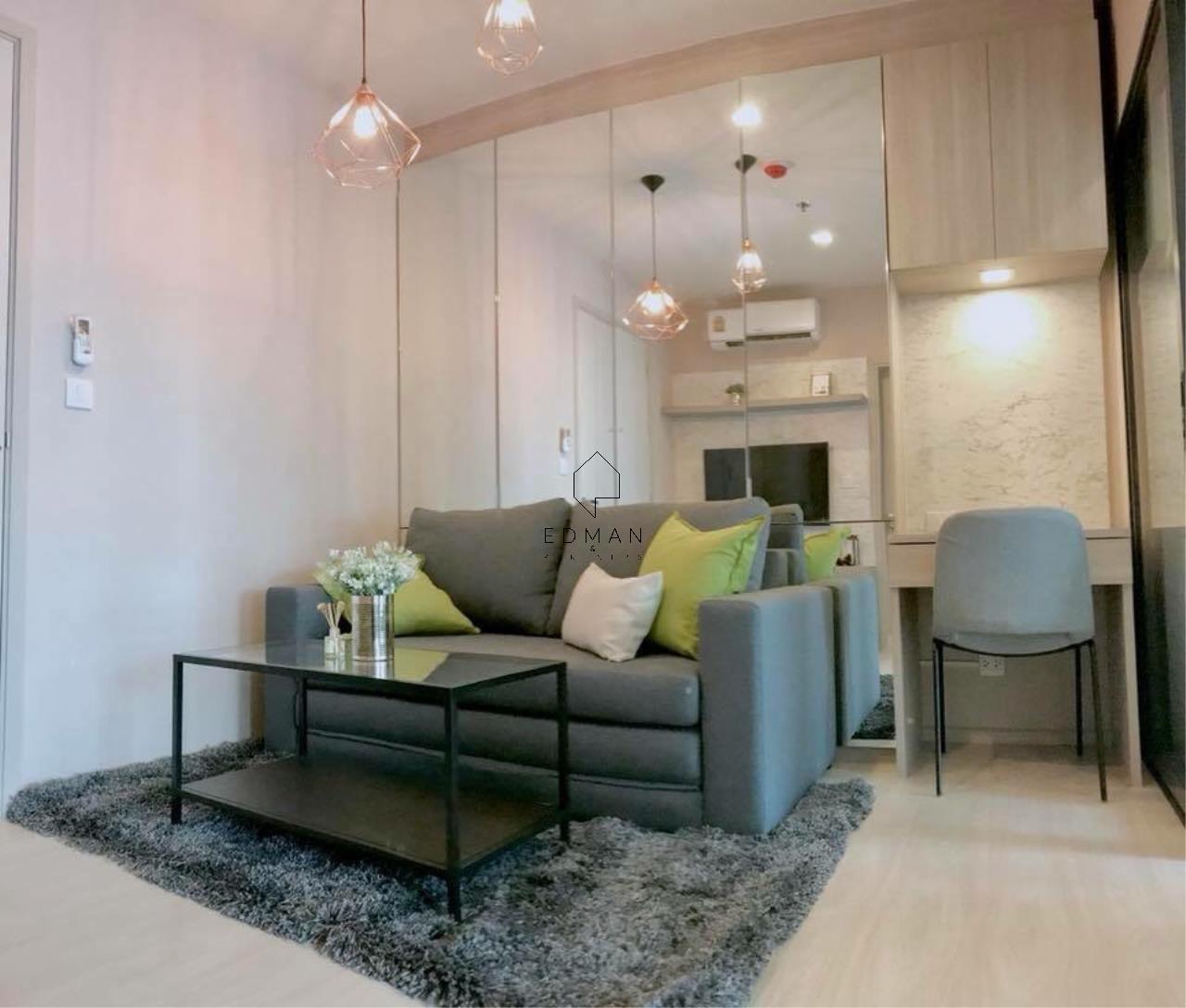 Edman & Partners Co.,Ltd. Agency's LIFE SUKHUMVIT48  1 bed for rent 1