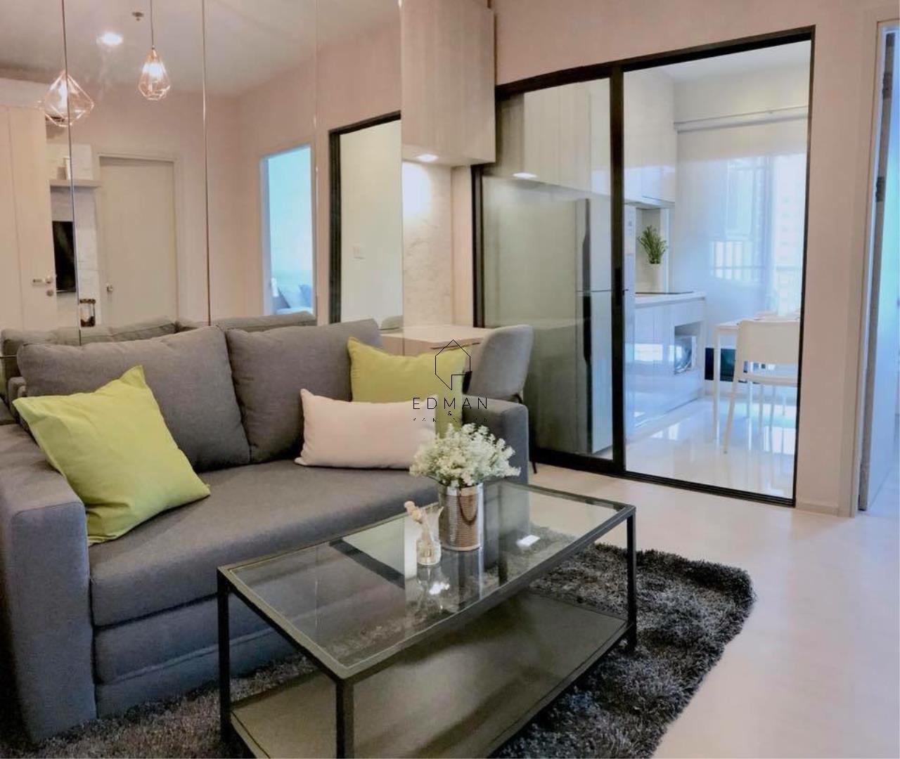 Edman & Partners Co.,Ltd. Agency's LIFE SUKHUMVIT48  1 bed for rent 2