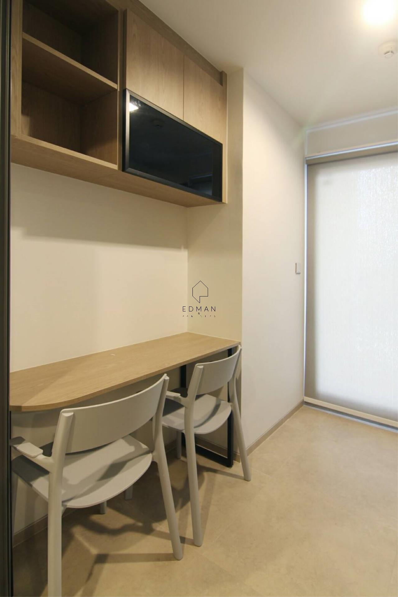 Edman & Partners Co.,Ltd. Agency's Whizdom Connect 1 bed  for rent 3