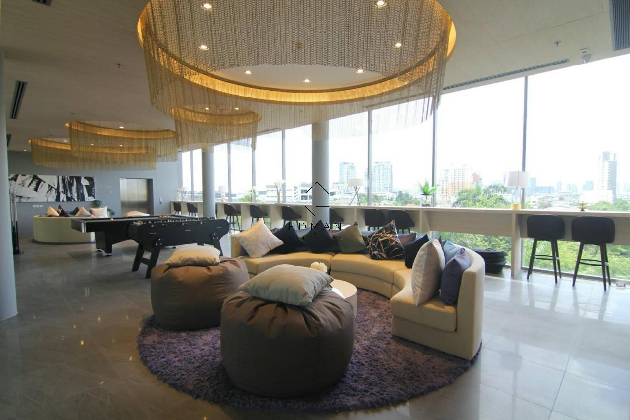 Edman & Partners Co.,Ltd. Agency's Whizdom Connect 1 bed  for rent 10