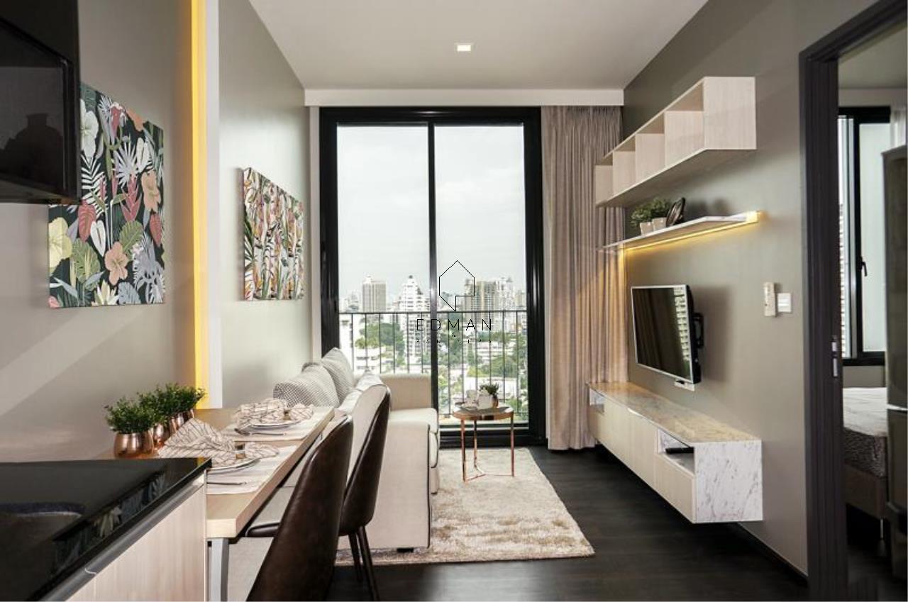 Edman & Partners Co.,Ltd. Agency's Edge sukhumvit 23 1bed for rent 1