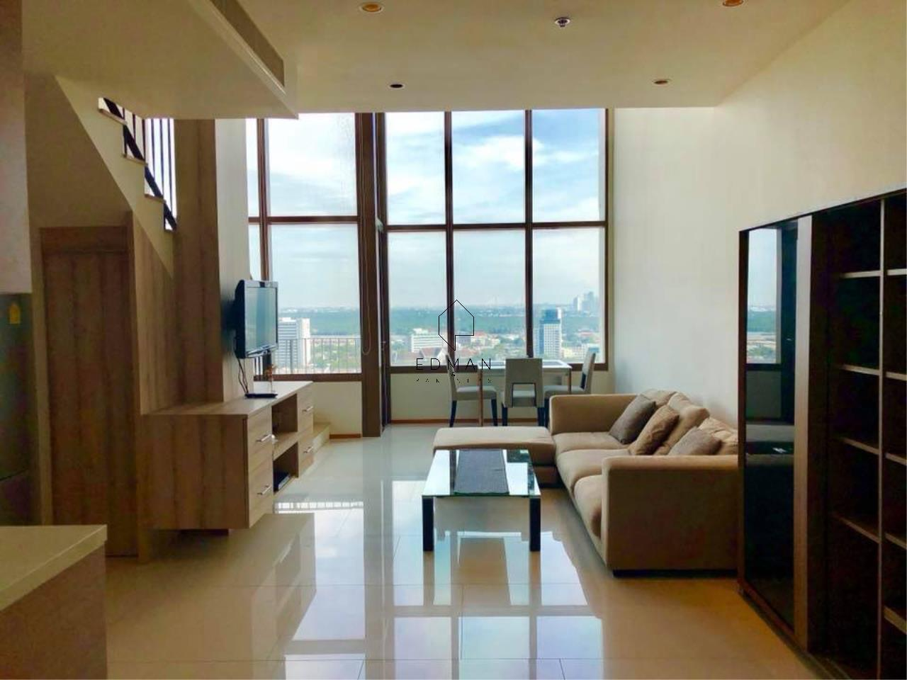 Edman & Partners Co.,Ltd. Agency's THE EMPORIO PLACE         SUKHUMVIT 24  1 bed for rent  Duplex  1