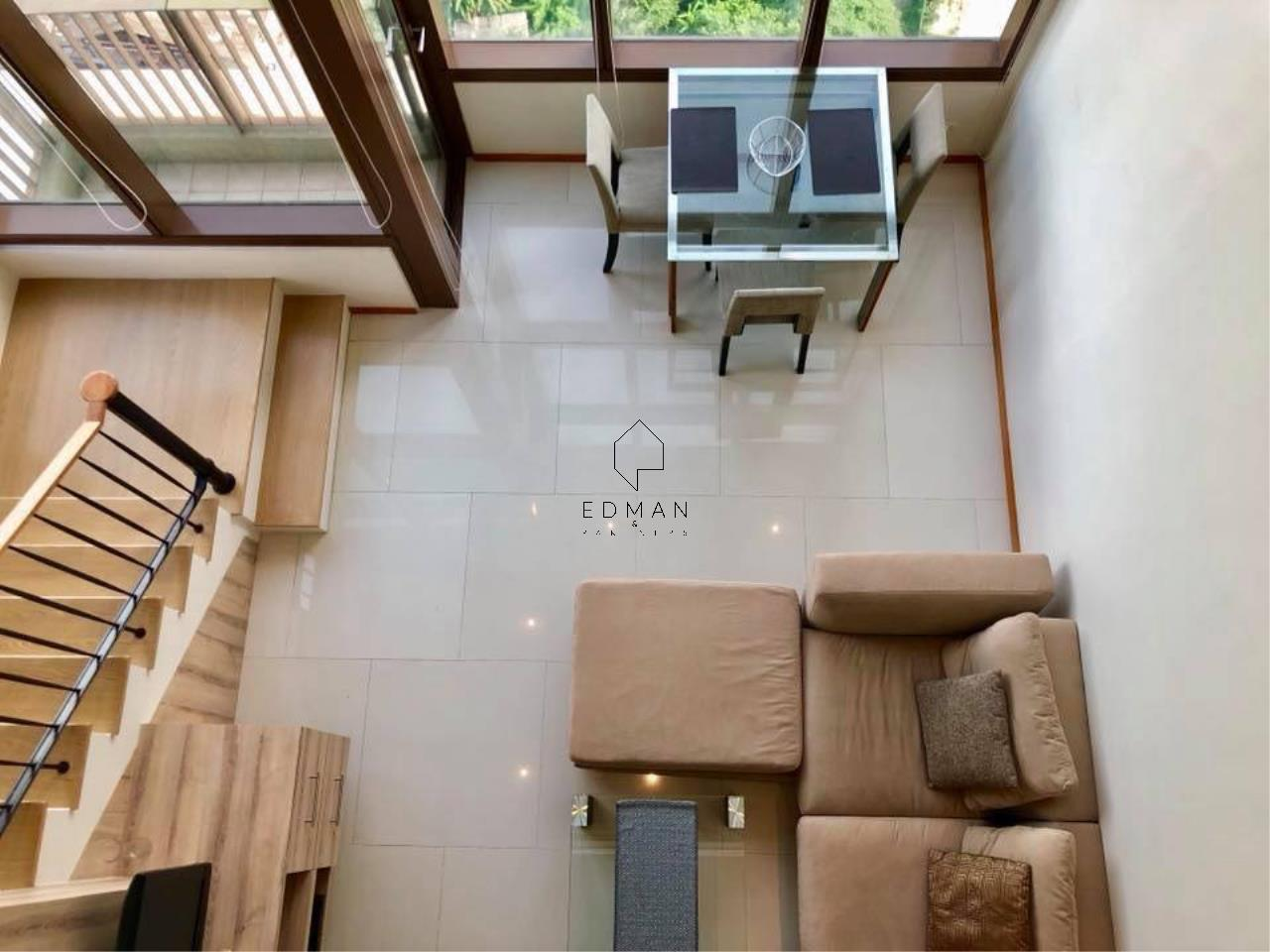 Edman & Partners Co.,Ltd. Agency's THE EMPORIO PLACE         SUKHUMVIT 24  1 bed for rent  Duplex  2
