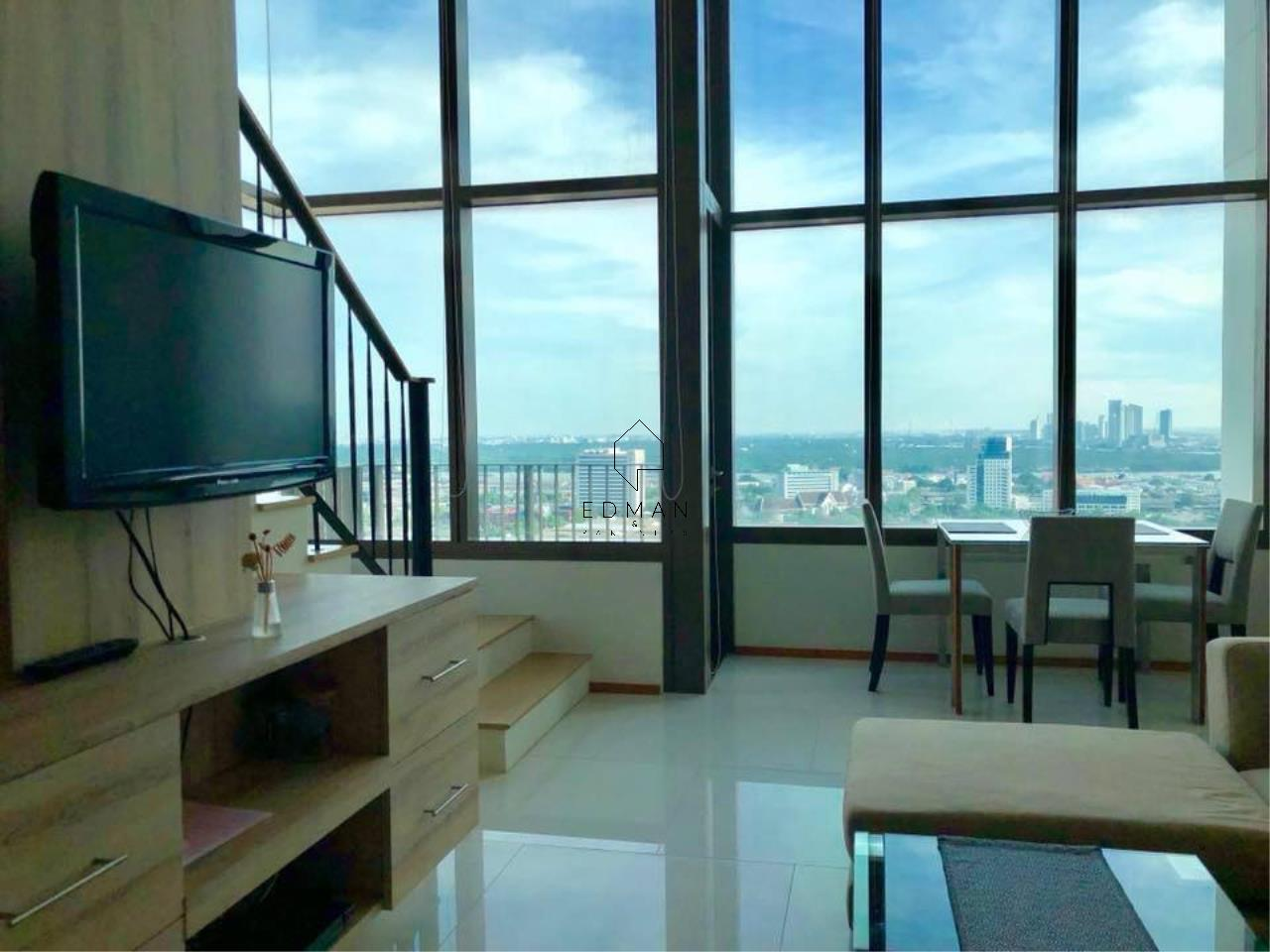 Edman & Partners Co.,Ltd. Agency's THE EMPORIO PLACE         SUKHUMVIT 24  1 bed for rent  Duplex  3
