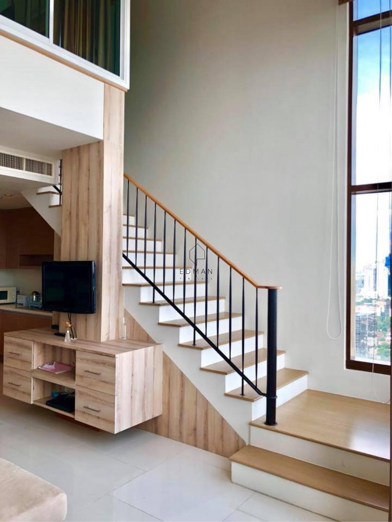 Edman & Partners Co.,Ltd. Agency's THE EMPORIO PLACE         SUKHUMVIT 24  1 bed for rent  Duplex  5