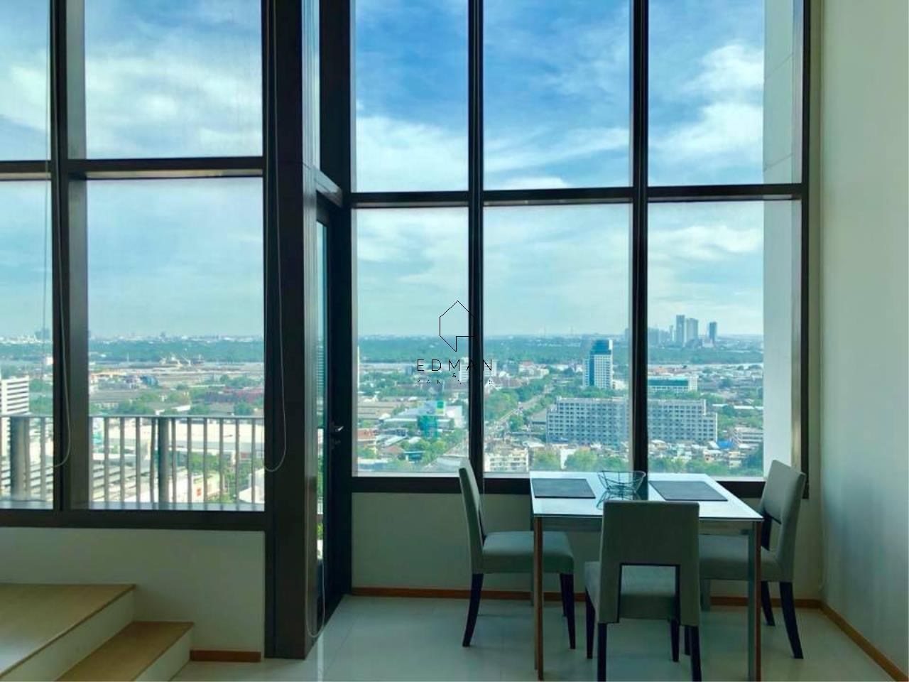 Edman & Partners Co.,Ltd. Agency's THE EMPORIO PLACE         SUKHUMVIT 24  1 bed for rent  Duplex  4