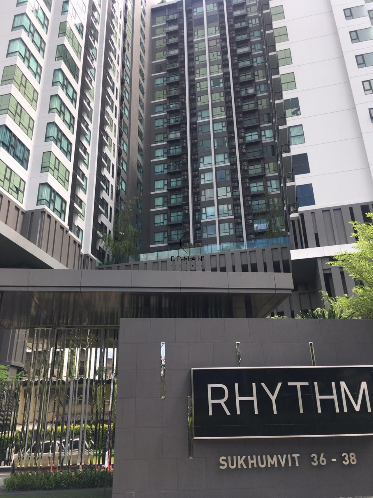 Edman and Partners Co.,Ltd Agency's Rhythm 36-38 For Rent 1 BR 10