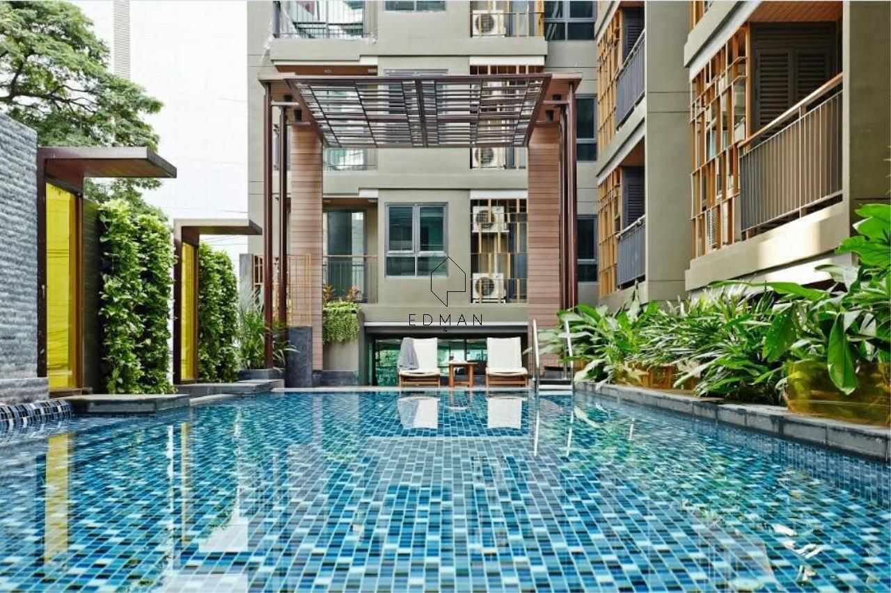 Edman & Partners Co.,Ltd. Agency's MIRAGE SUKHUMVIT27  1bed  for rent  and  sale 16