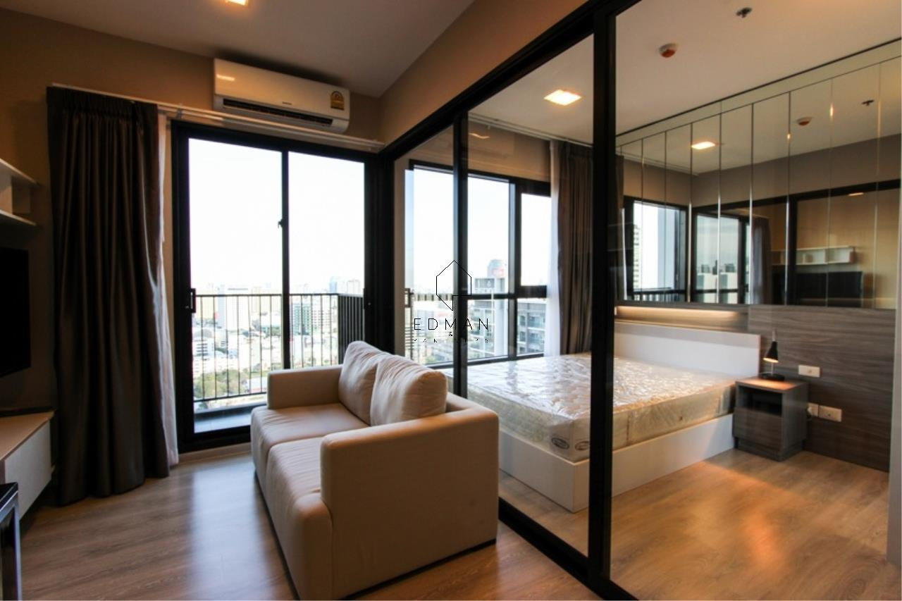 Edman and Partners Co.,Ltd Agency's CONDO LETTE  MIDST  RAMA9  1  BED  FOR  RENT  AND  SALE 1