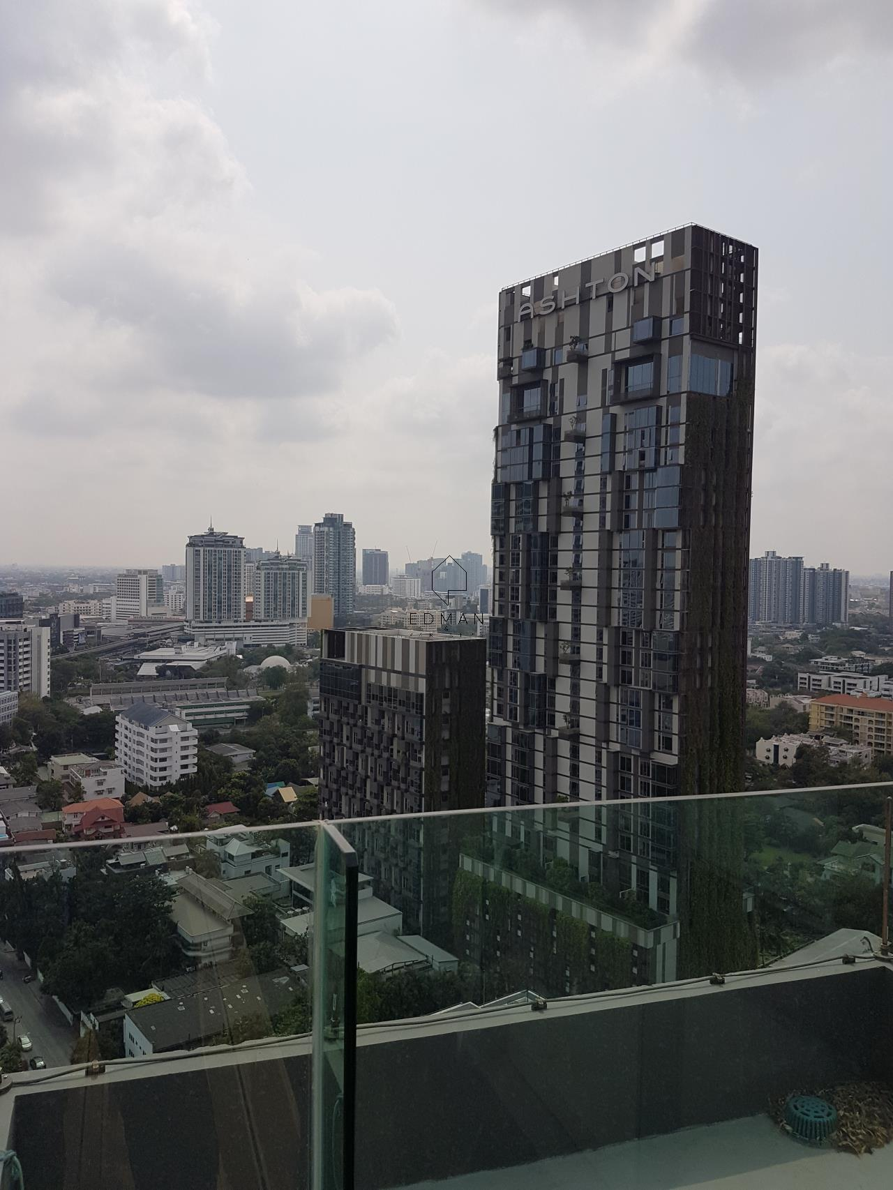 Edman & Partners Co.,Ltd. Agency's Rhythm Sukhumvit 36-38    1  bed  for  rent 25