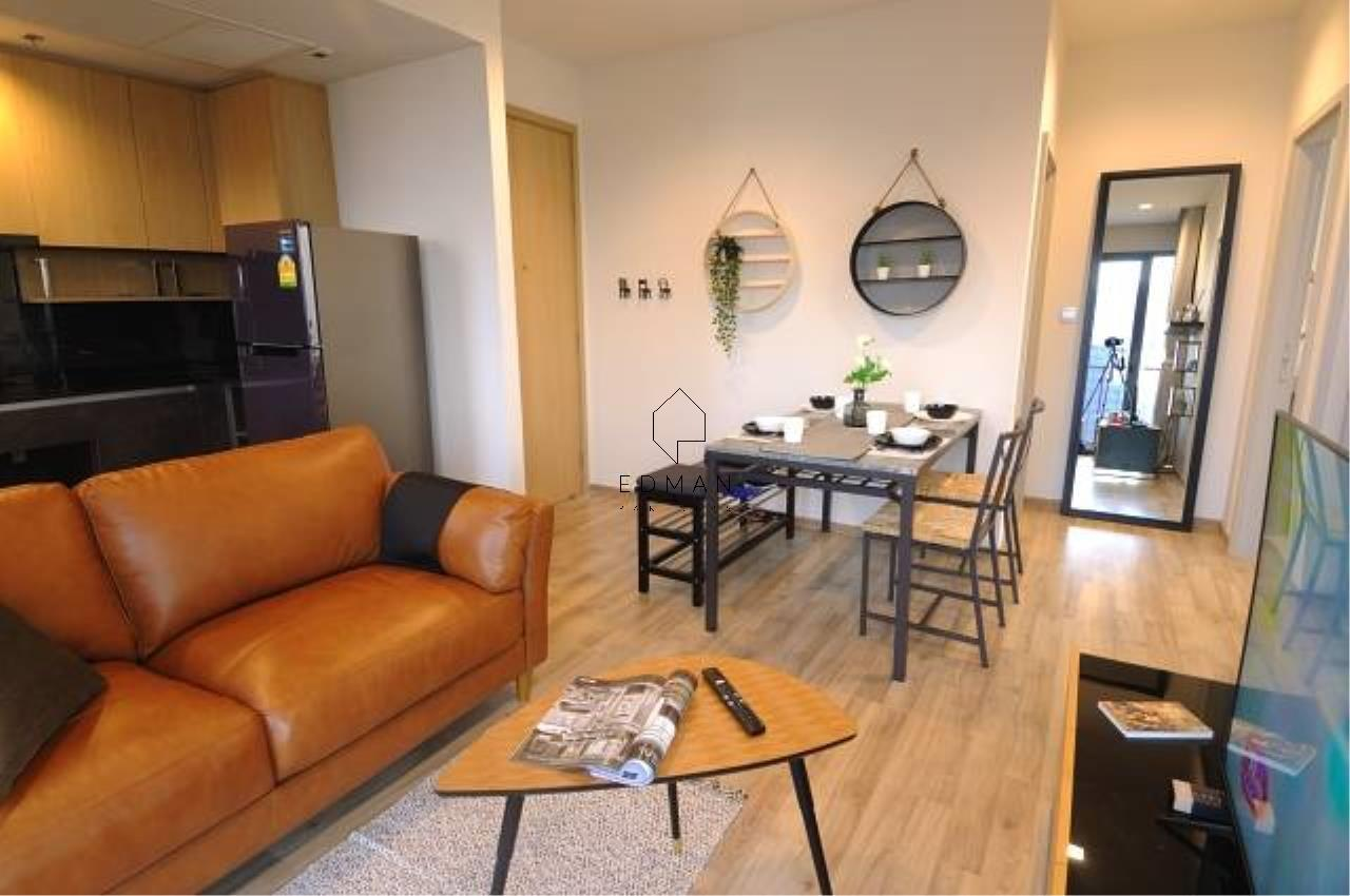 Edman and Partners Co.,Ltd Agency's  THE LINE JATUJAK   2  bed  for  rent 1