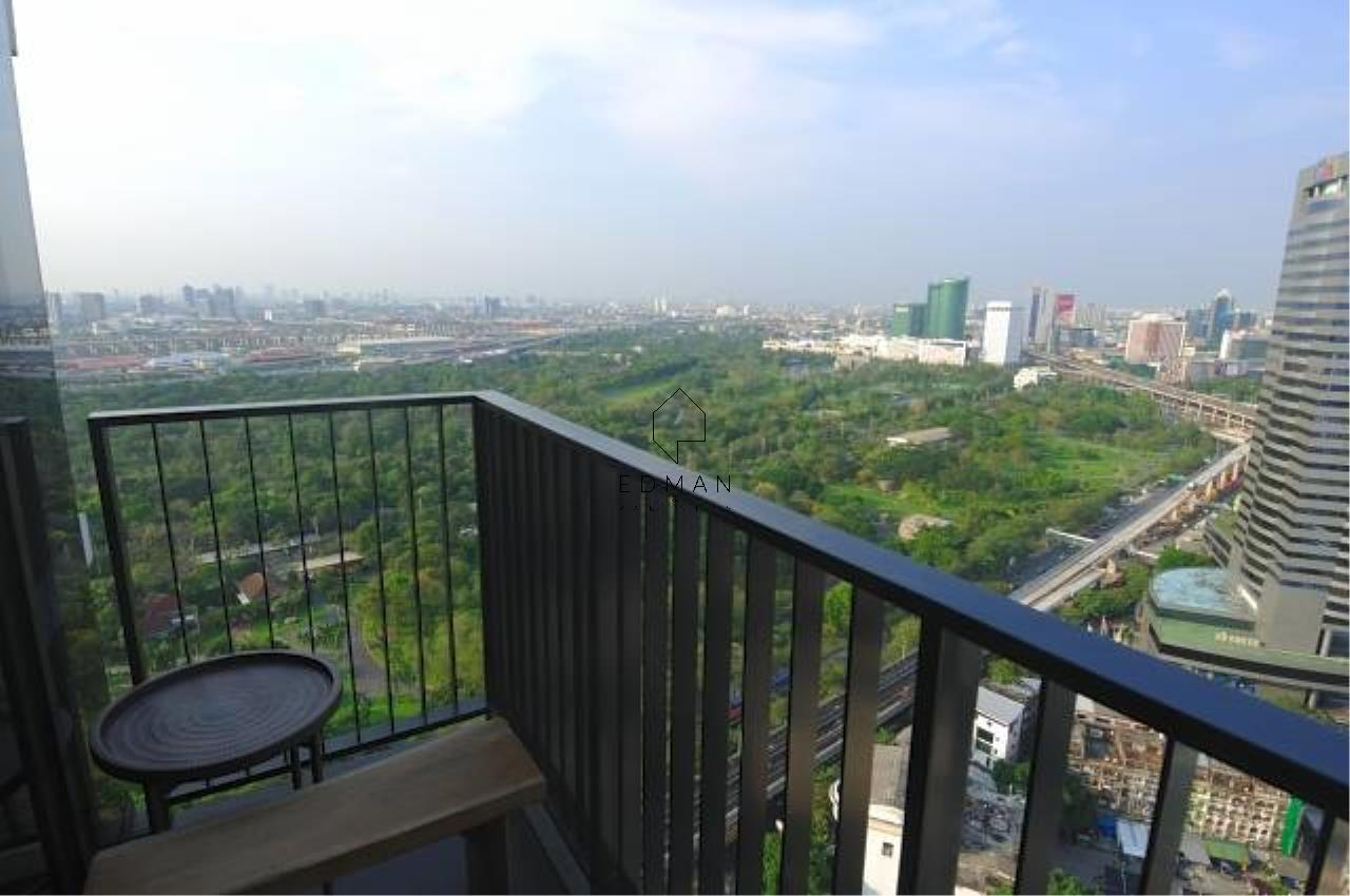 Edman and Partners Co.,Ltd Agency's  THE LINE JATUJAK   2  bed  for  rent 8