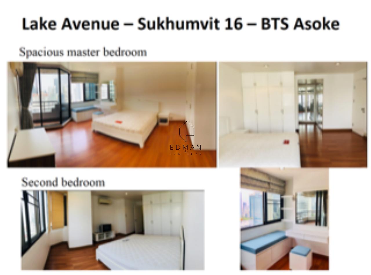 Edman and Partners Co.,Ltd Agency's Lake Avenue Condo Sukhumvit 16 -BTS Asoke 2