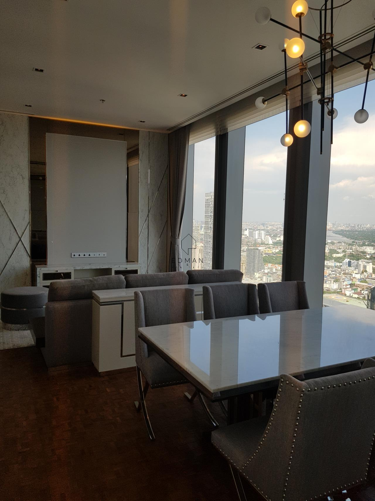 Edman & Partners Co.,Ltd. Agency's The Ritz-Carlton Residences/Mahanakhon (2 bedroom) for rent 4
