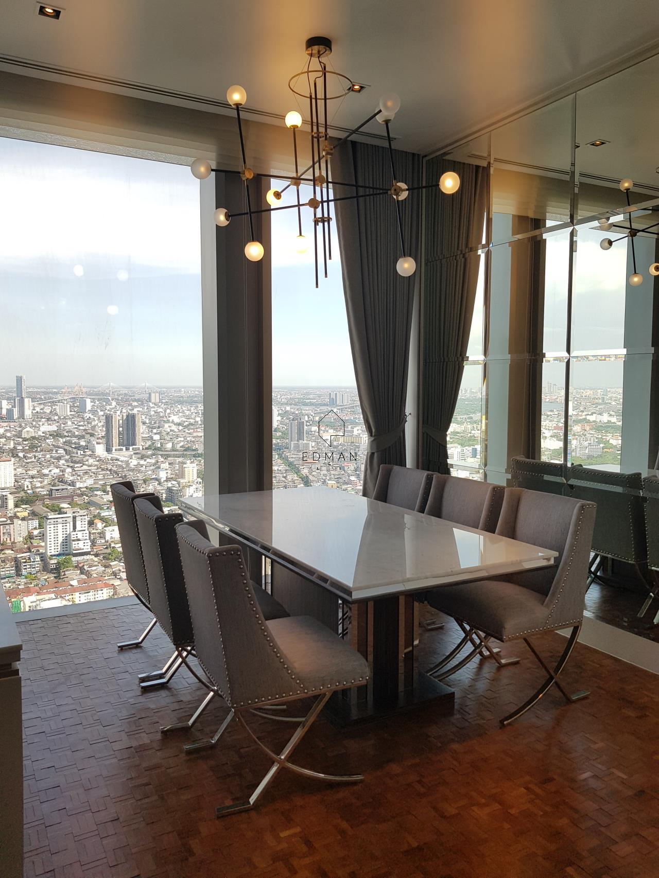 Edman & Partners Co.,Ltd. Agency's The Ritz-Carlton Residences/Mahanakhon (2 bedroom) for rent 6
