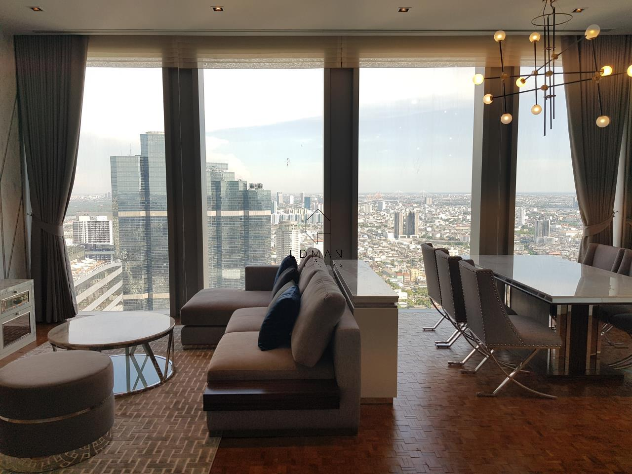 Edman & Partners Co.,Ltd. Agency's The Ritz-Carlton Residences/Mahanakhon (2 bedroom) for rent 9
