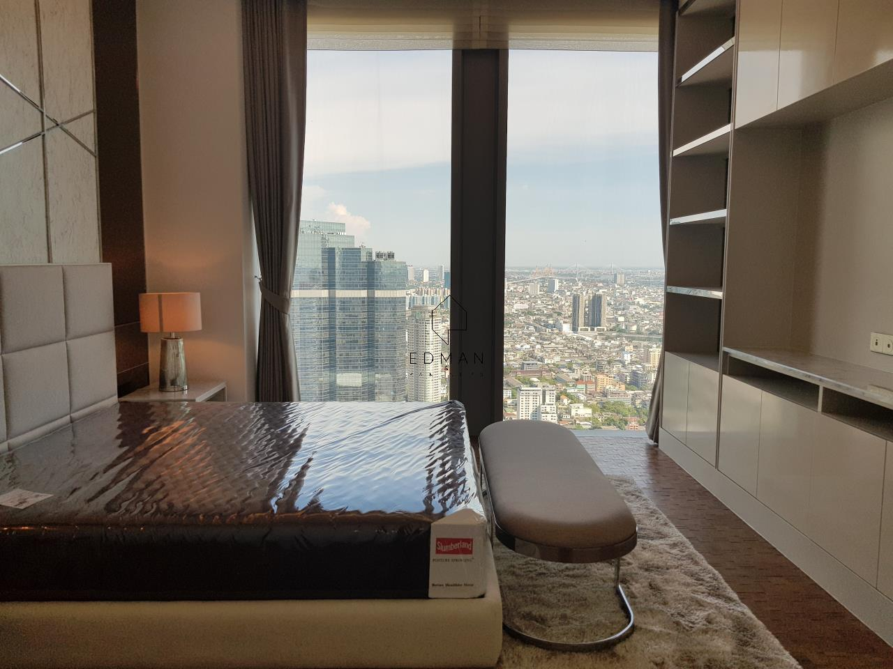 Edman & Partners Co.,Ltd. Agency's The Ritz-Carlton Residences/Mahanakhon (2 bedroom) for rent 12