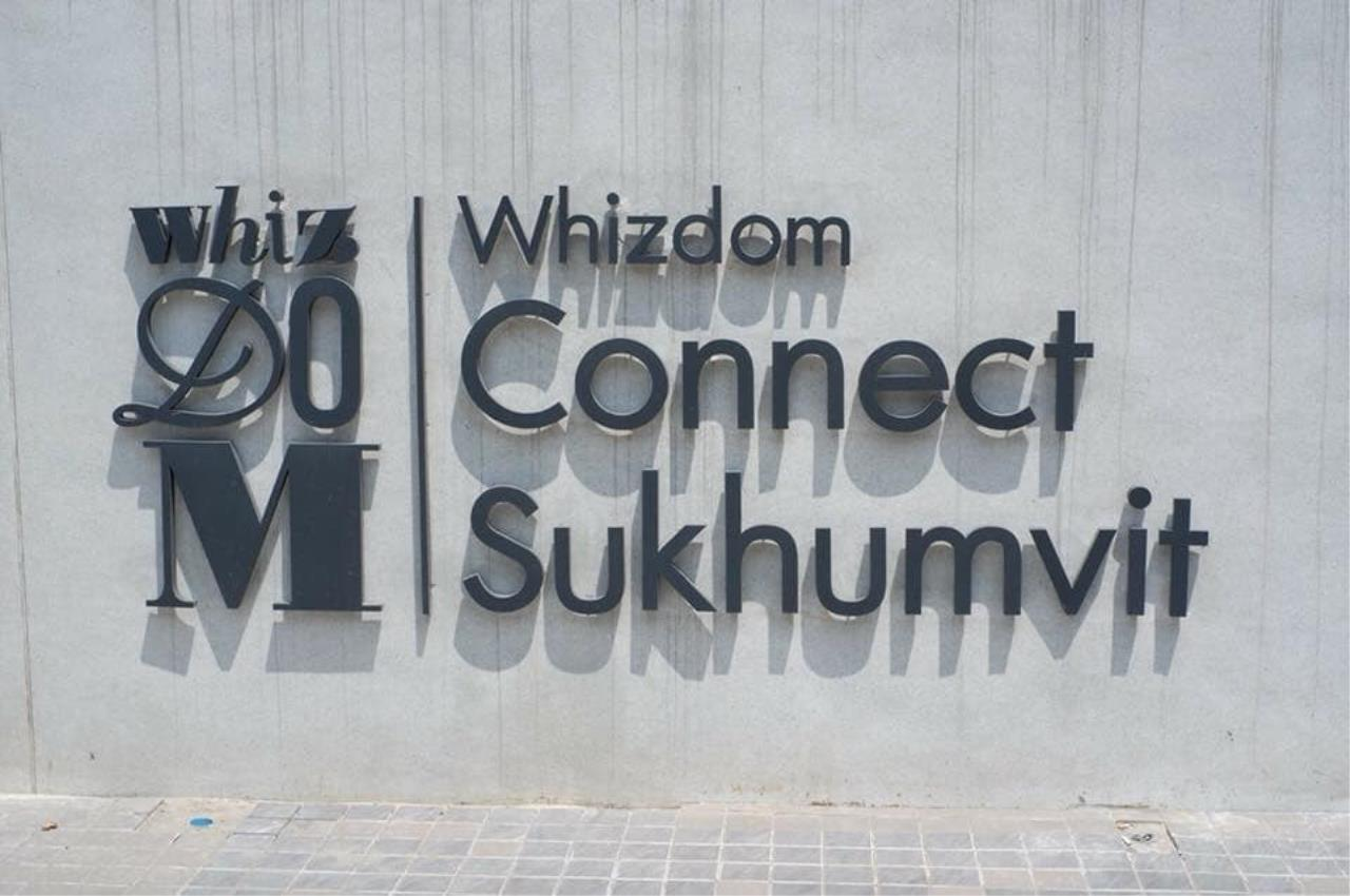 Edman and Partners Co.,Ltd Agency's Whizdom Connect Sukhumvit for Rent 16