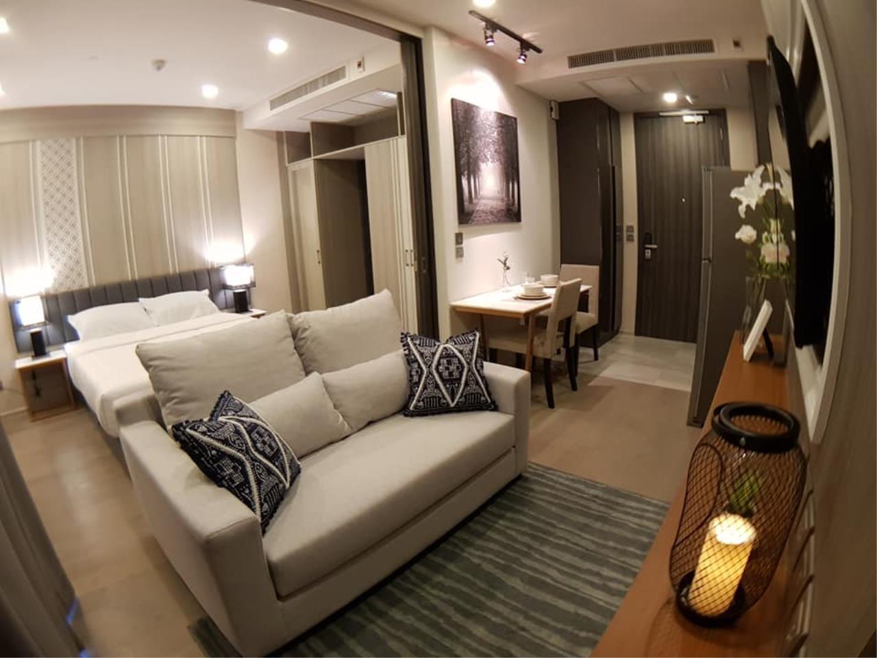 Edman & Partners Co.,Ltd. Agency's  1bedroom type at Aston Asoke for rent  1