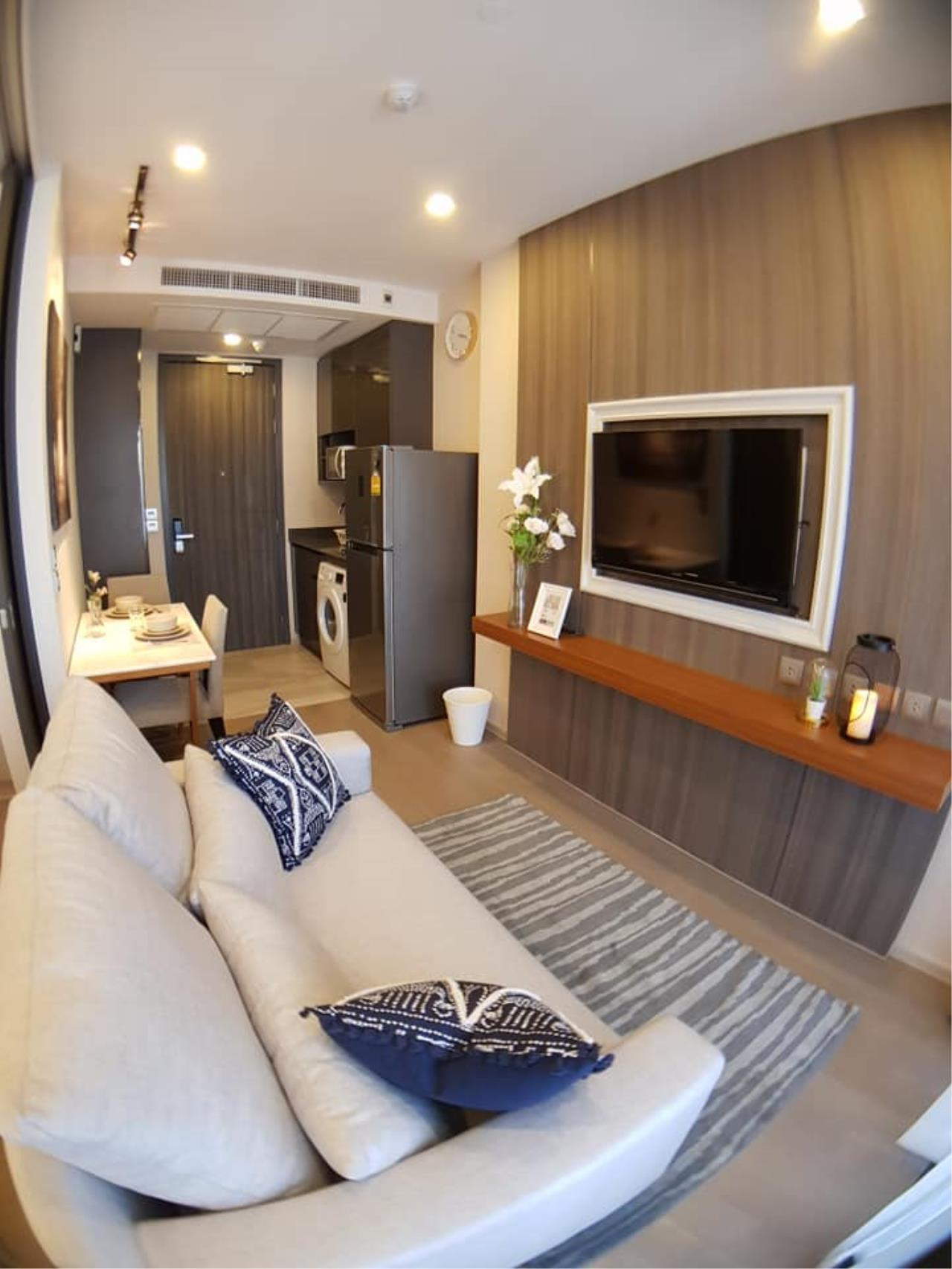 Edman & Partners Co.,Ltd. Agency's  1bedroom type at Aston Asoke for rent  9