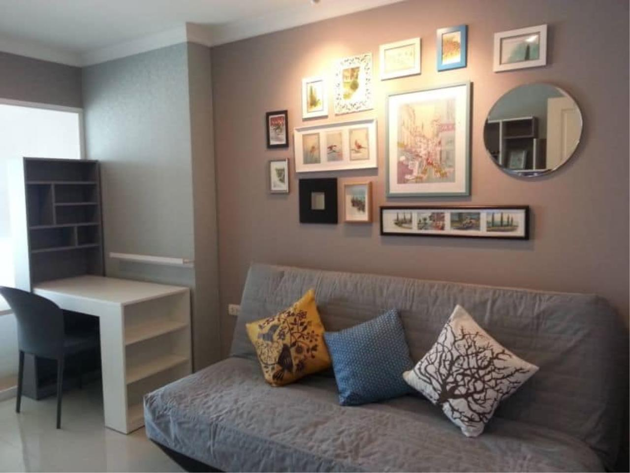 Edman and Partners Co.,Ltd Agency's 1 Bedroom type at lumpini place rama 9 2
