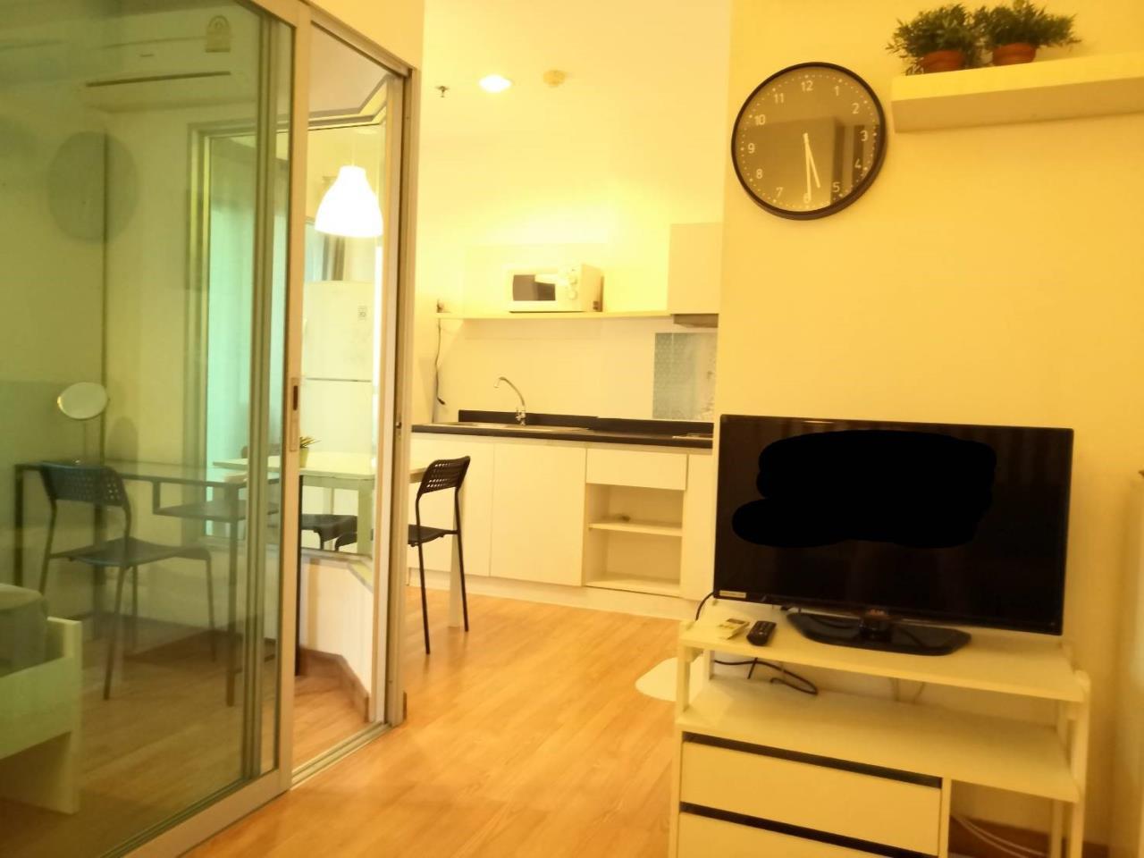 Edman and Partners Co.,Ltd Agency's Aspire rama 4  One bedroom  Rent 11,000.- baht 9