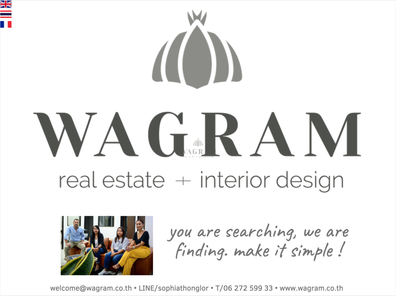 WAGRAM Co.,Ltd Agency's Aspire Sukhumvit 48 8