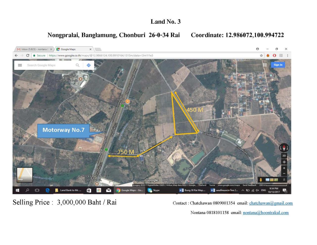 Hoontrakul Corporation Agency's Nongpralai, Banglamung, Chonburi 2