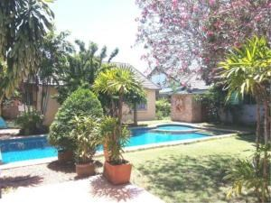 RE/MAX Town & Country Property Agency's 2 Houses with Swimming pool in the middle for sale in Baan Amphur 2