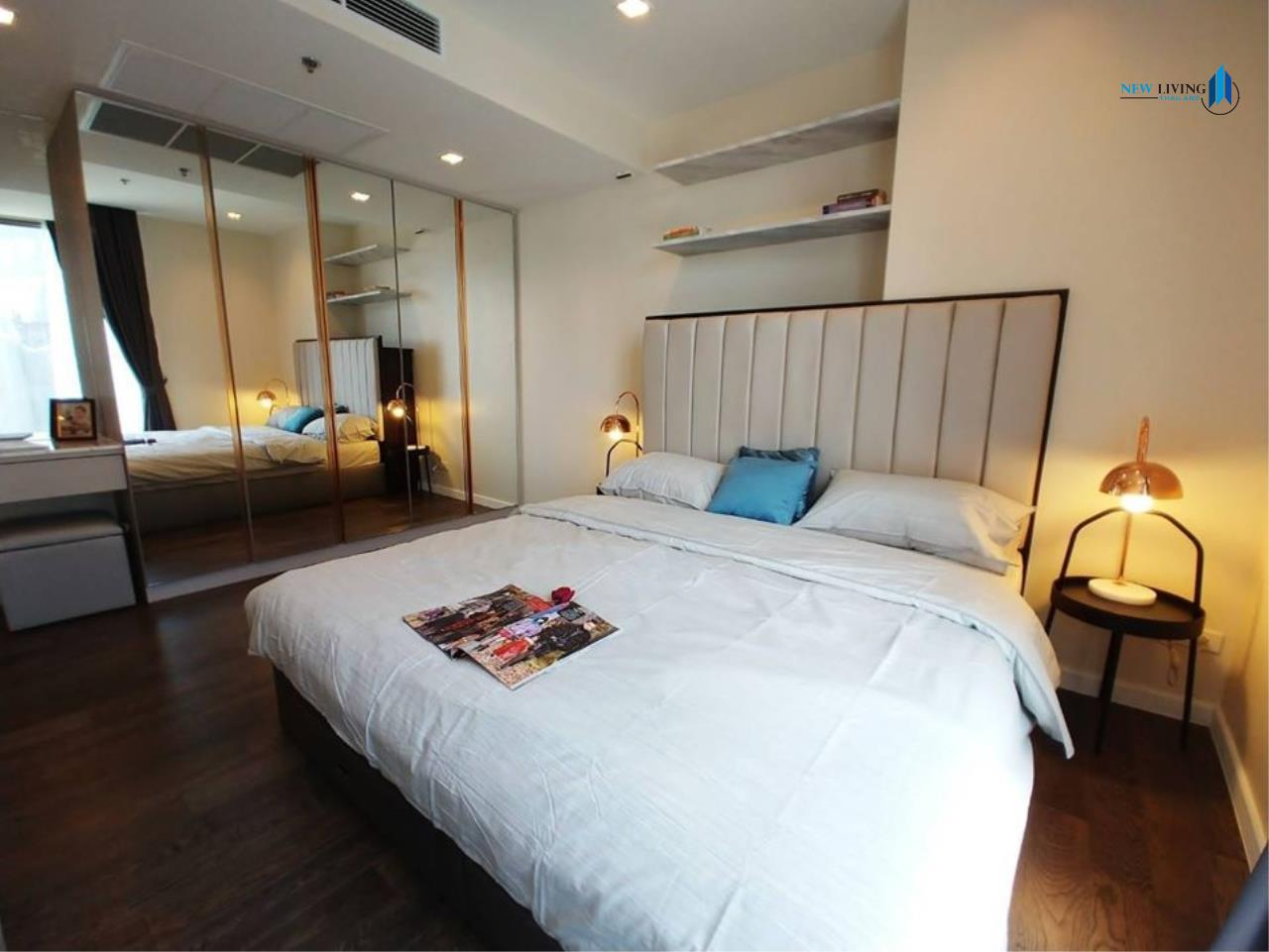New Living Thailand Agency's +++ Urgent rent  !!! Nara 9, 2 bedrooms, 66 sq.m., fully furnished, garden view, very beautiful room +++ 5