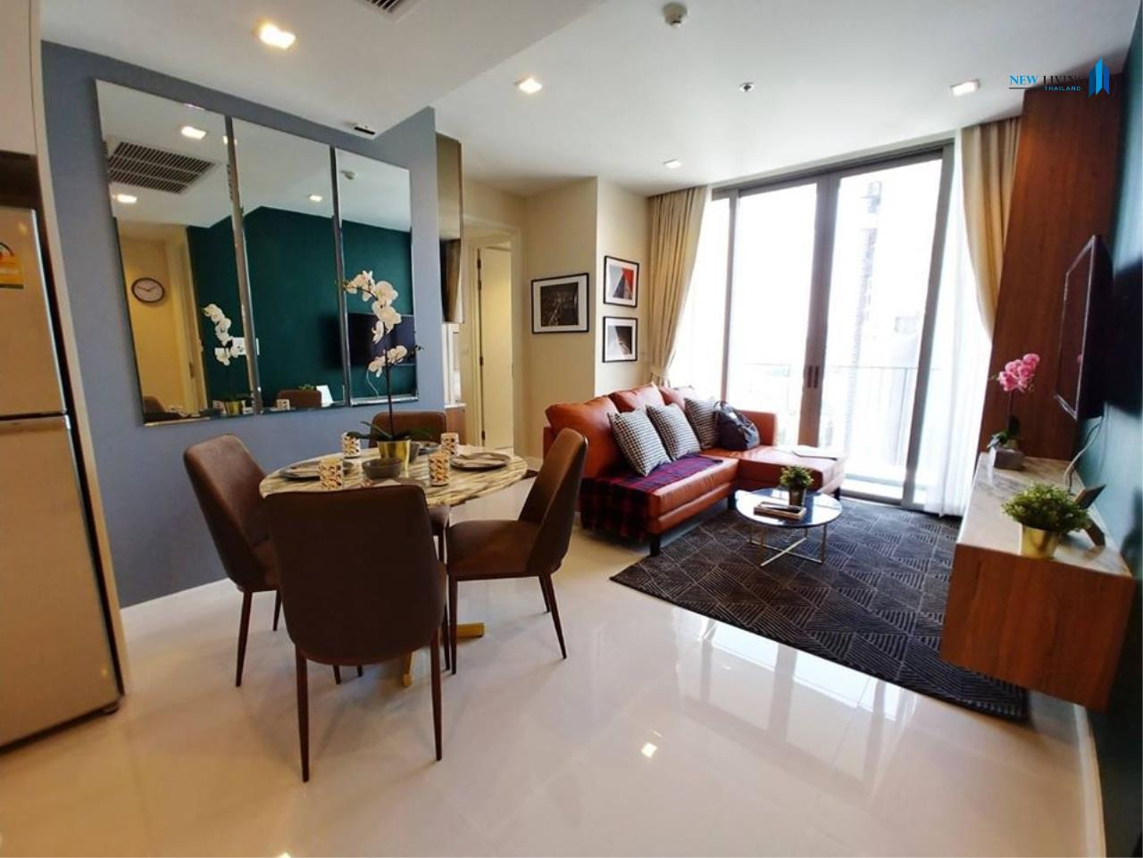 New Living Thailand Agency's +++ Urgent rent  !!! Nara 9, 2 bedrooms, 66 sq.m., fully furnished, garden view, very beautiful room +++ 2