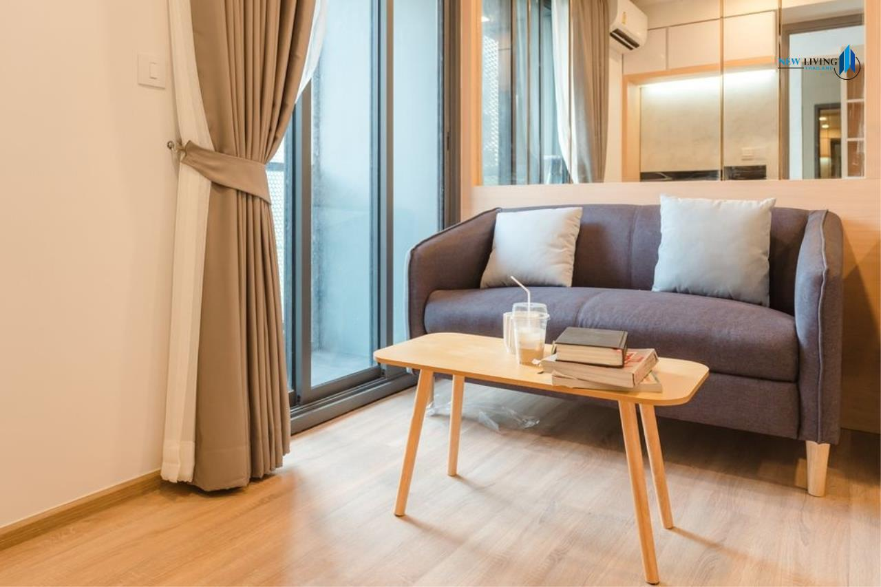 New Living Thailand Agency's *** Urgent rent !!! Taka Haus 1 Bedroom 34.72 sq m, fully furnished, high floor, beautiful room *** 8