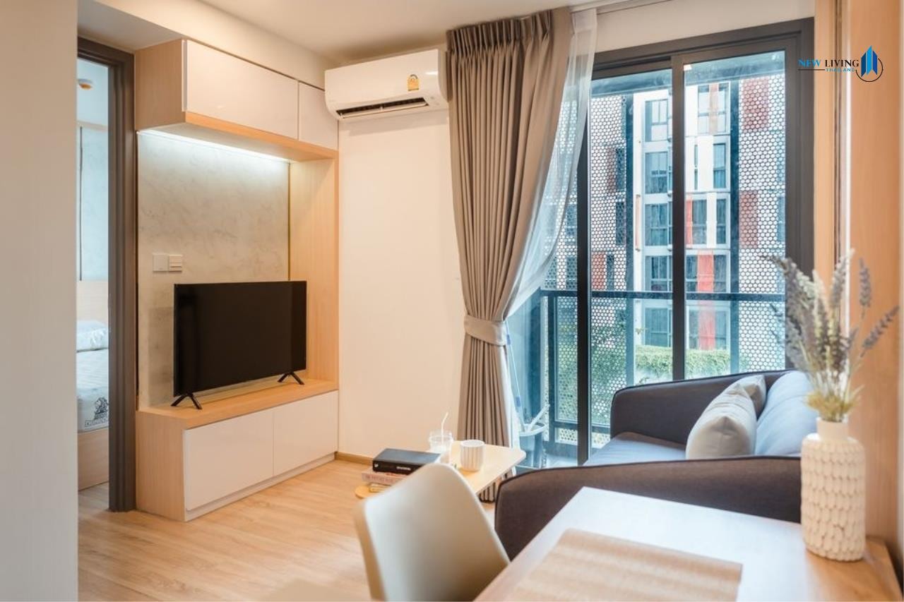 New Living Thailand Agency's *** Urgent rent !!! Taka Haus 1 Bedroom 34.72 sq m, fully furnished, high floor, beautiful room *** 9