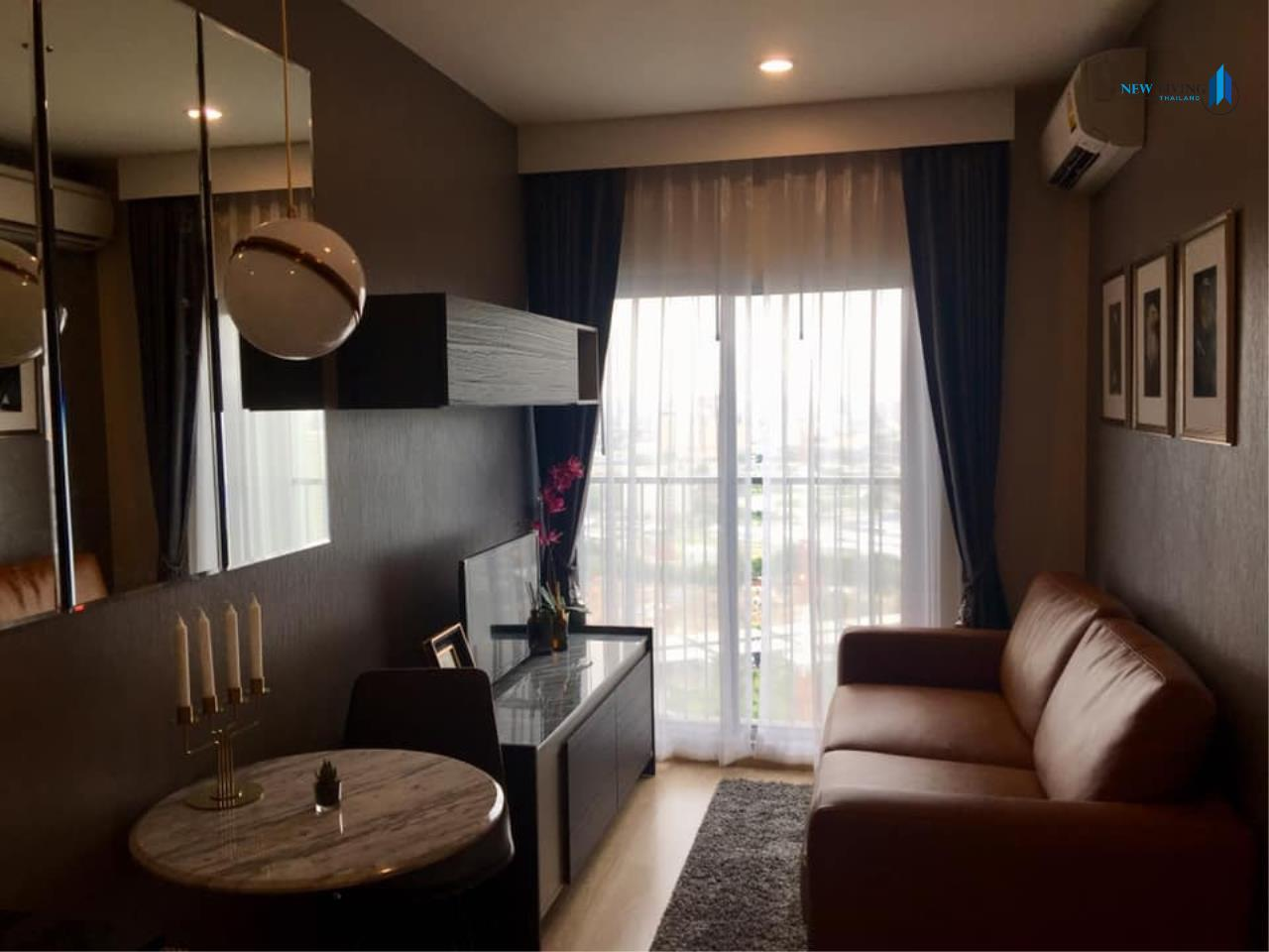 New Living Thailand Agency's **** Urgent rent !!! Noble Revolve Ratchada 1 bedroom 25.60 sq.m. **** 1