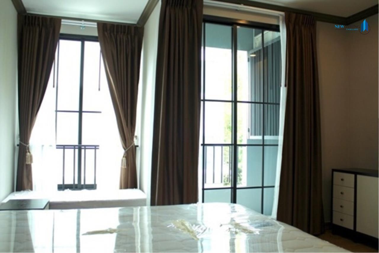 New Living Thailand Agency's >>> For RENT !! <<  The Reserve Kasemson 3 ** next to BTS National Stadium, Studio, 29 sq.m., Corner room 5