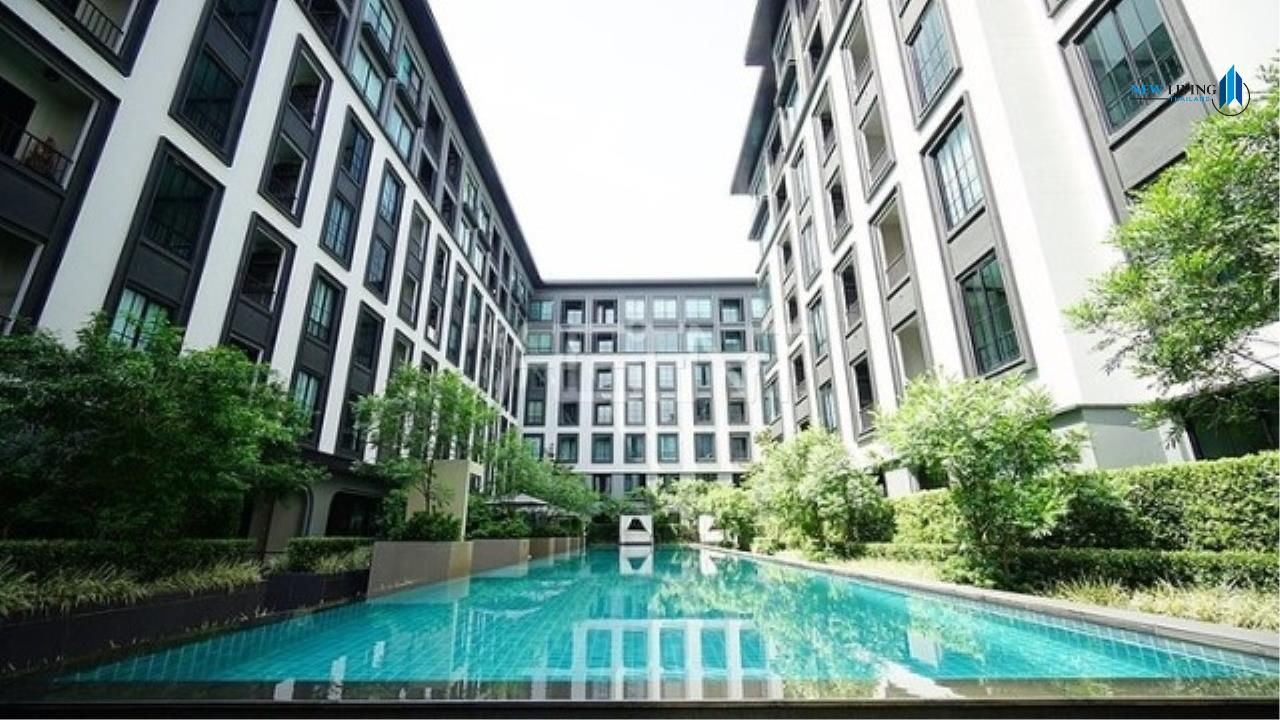 New Living Thailand Agency's >>> For SALE !! <<  The Reserve Kasemson 3 ** next to BTS National Stadium, 1 bedroom, 40 sq.m., pool view 9