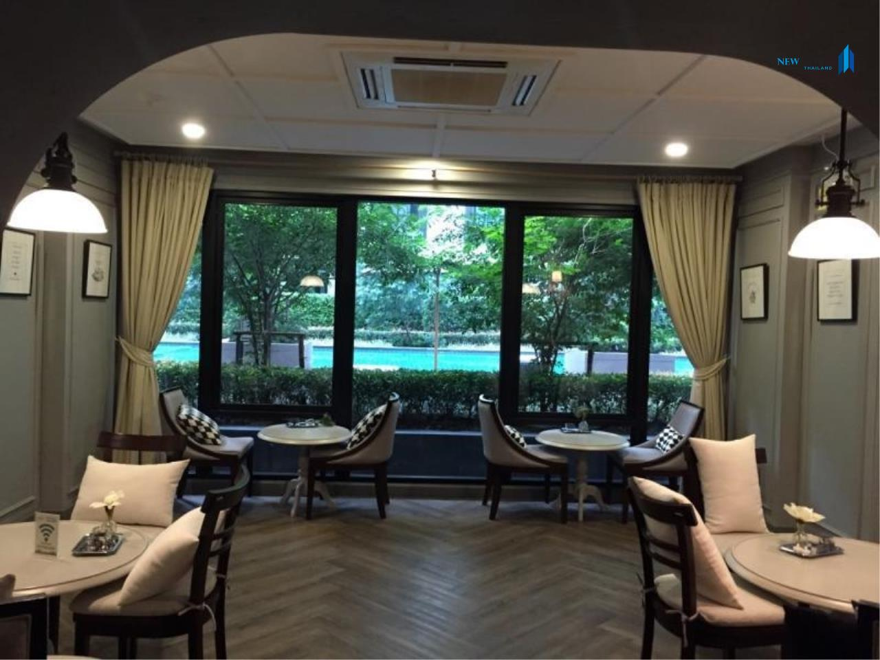 New Living Thailand Agency's >>> For SALE !! <<  The Reserve Kasemson 3 ** next to BTS National Stadium, 1 bedroom, 40 sq.m., pool view 8