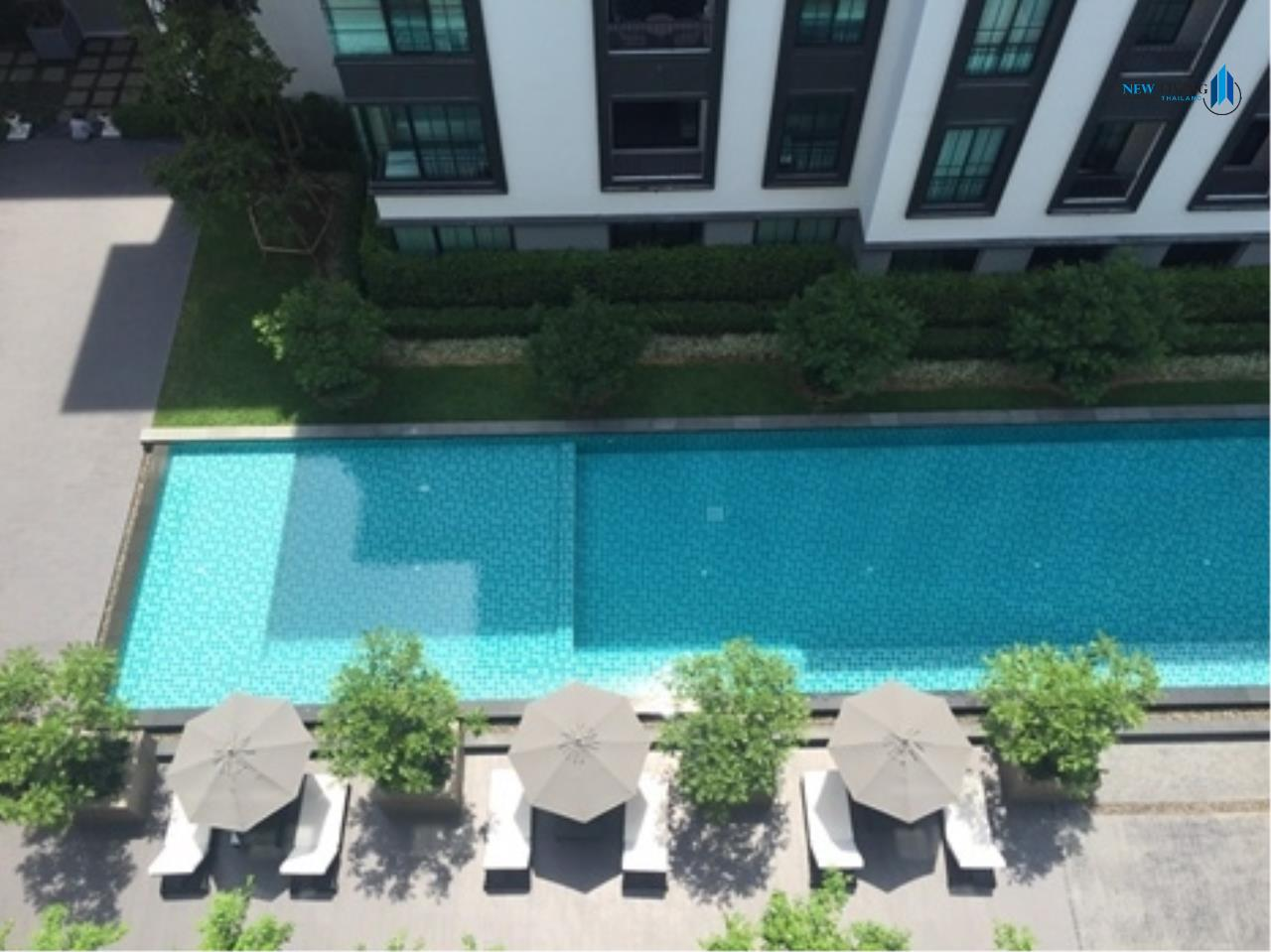 New Living Thailand Agency's >>> For SALE !! <<  The Reserve Kasemson 3 ** next to BTS National Stadium, 1 bedroom, 40 sq.m., pool view 11