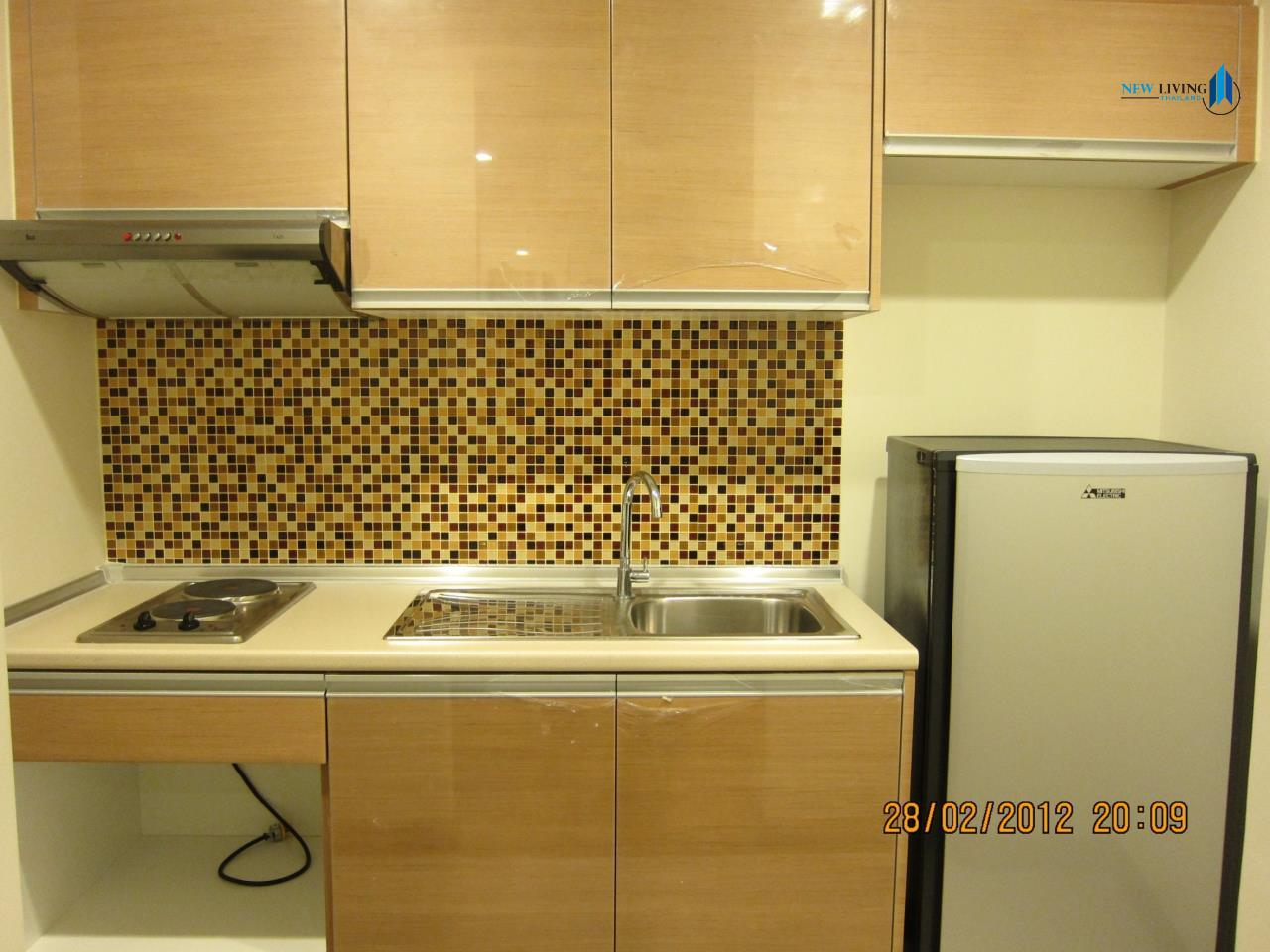 New Living Thailand Agency's **** Urgent rent  Le Luk Condo, 1 bedroom 35 sq.m.,  fully furnished **** 4