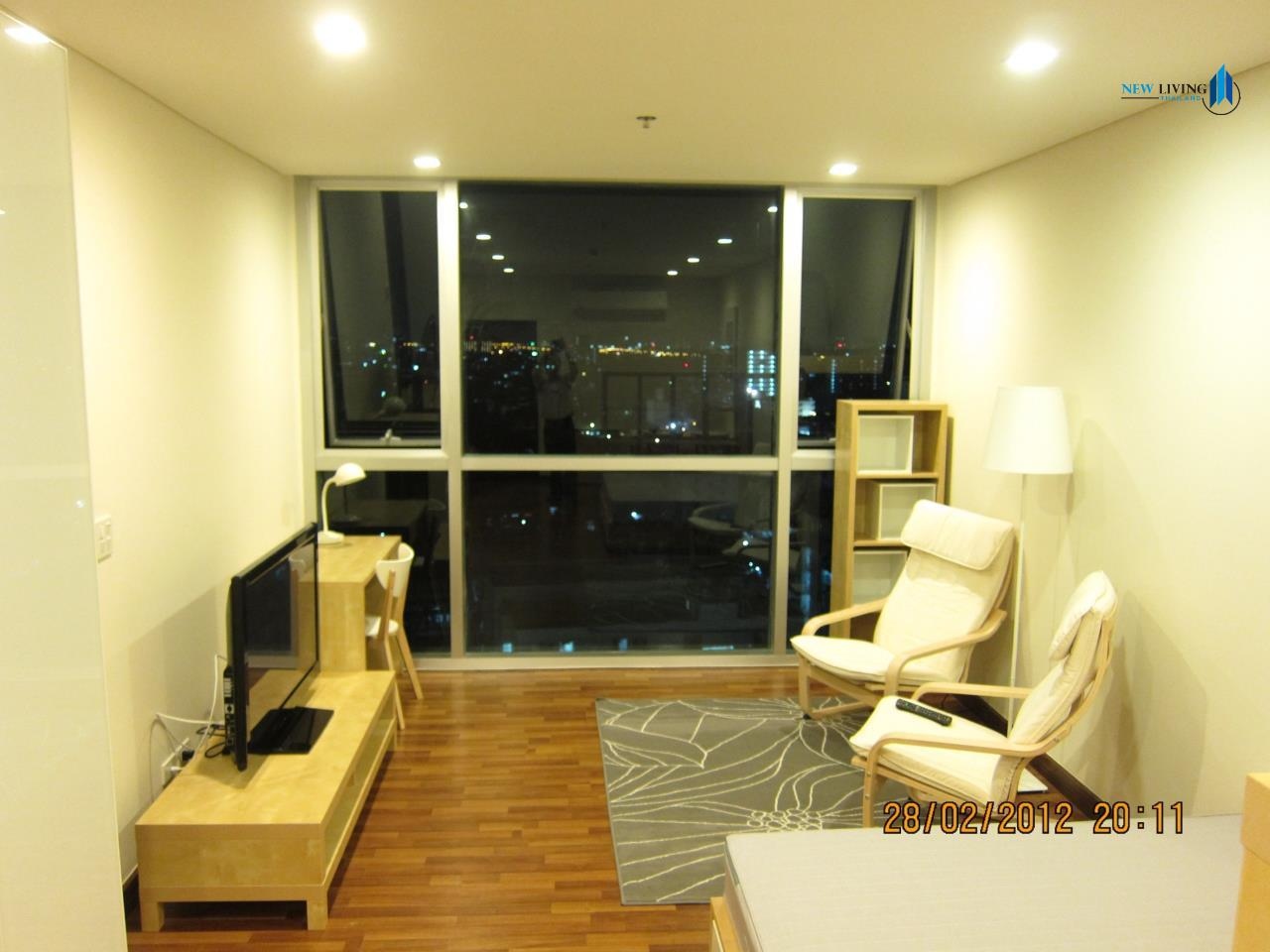 New Living Thailand Agency's **** Urgent rent  Le Luk Condo, 1 bedroom 35 sq.m.,  fully furnished **** 1
