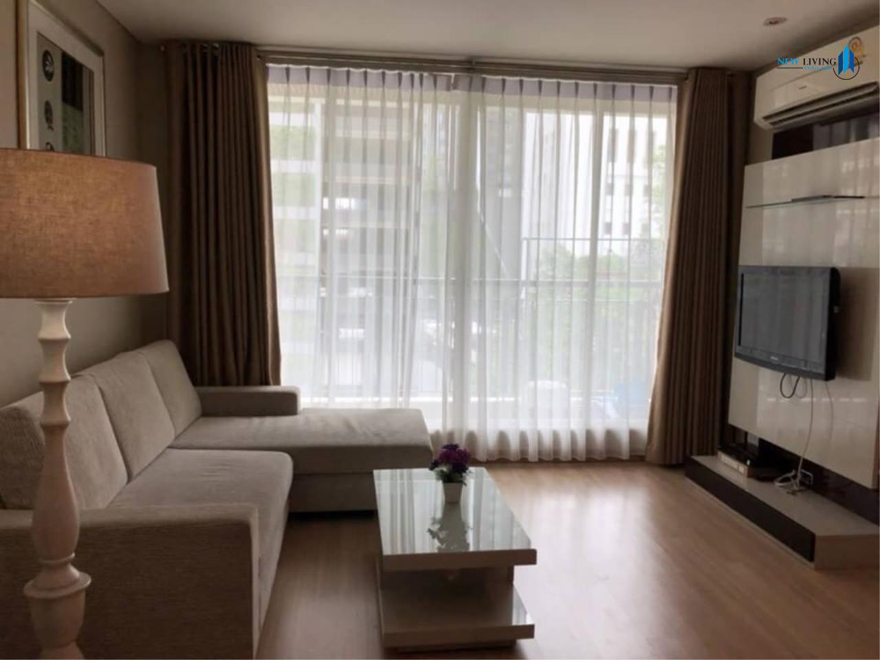 New Living Thailand Agency's For rent, The Address Pathumwan, near Ratchathewi BTS, 2 bedrooms, 60 sq.m., east, fully furnished 1