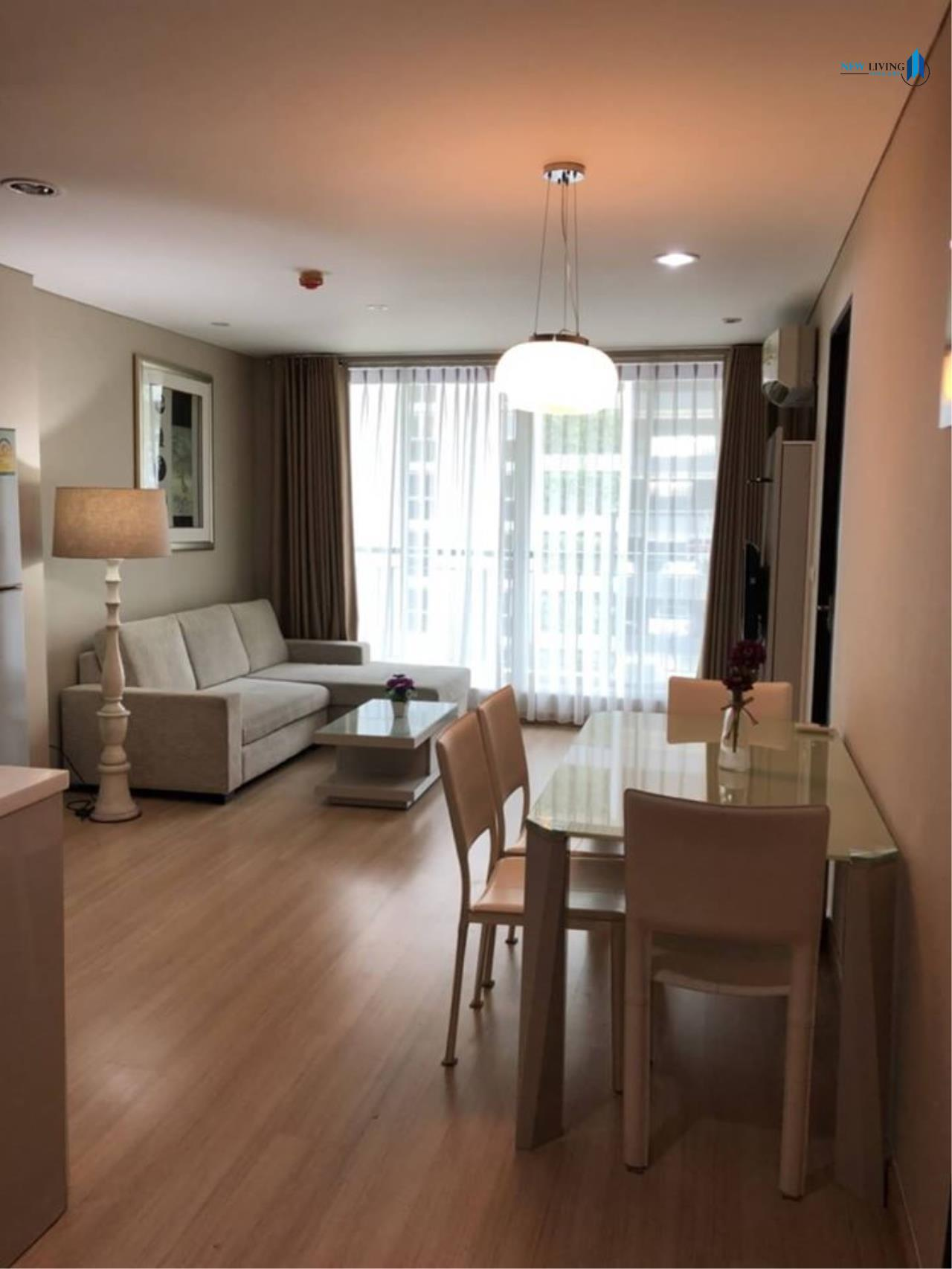 New Living Thailand Agency's For rent, The Address Pathumwan, near Ratchathewi BTS, 2 bedrooms, 60 sq.m., east, fully furnished 2