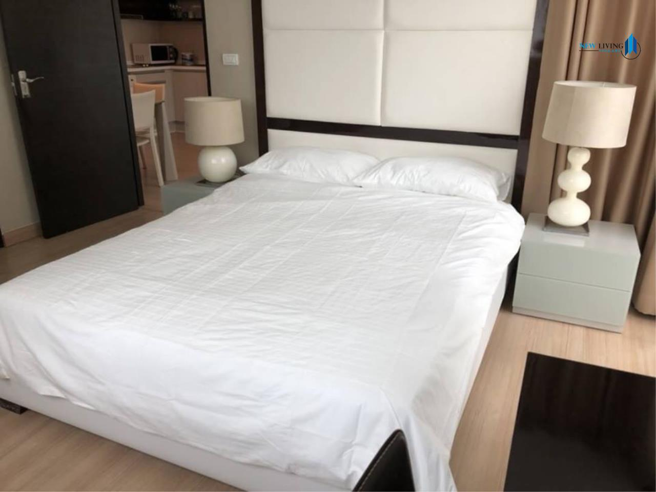 New Living Thailand Agency's For rent, The Address Pathumwan, near Ratchathewi BTS, 2 bedrooms, 60 sq.m., east, fully furnished 3